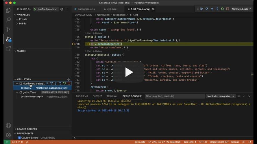 Serenji 3.2 multiple concurrent debug sessions