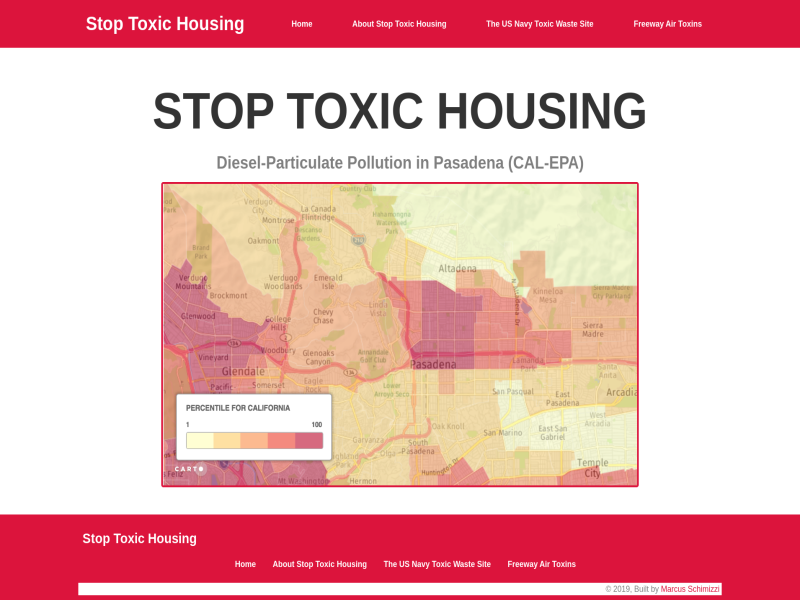 Stop Toxic Housing Website