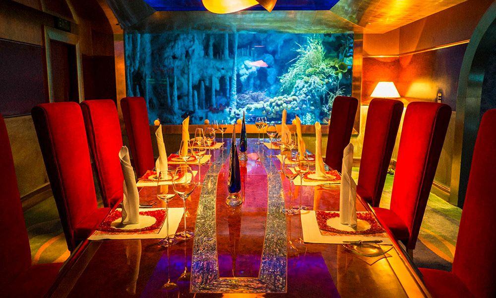 Burj Al Arab Lunch / Dinner