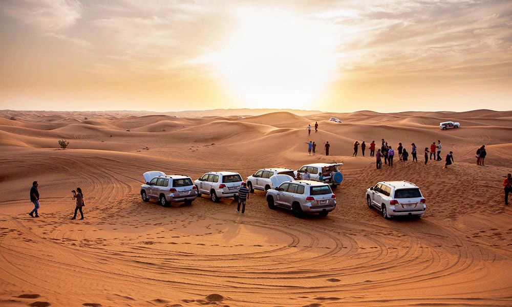 Desert Safari Lehbab 4x4 Pick Up