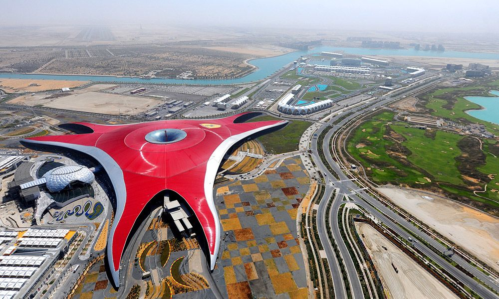 Ferrari World -Theme Park