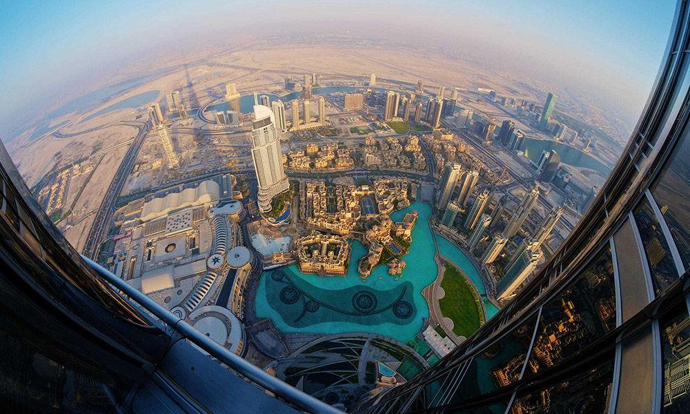 Burj Khalifa Top Floor | Flisol Home Burj Khalifa From Top Floor