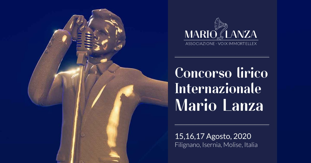 XXV concorso Mario Lanza