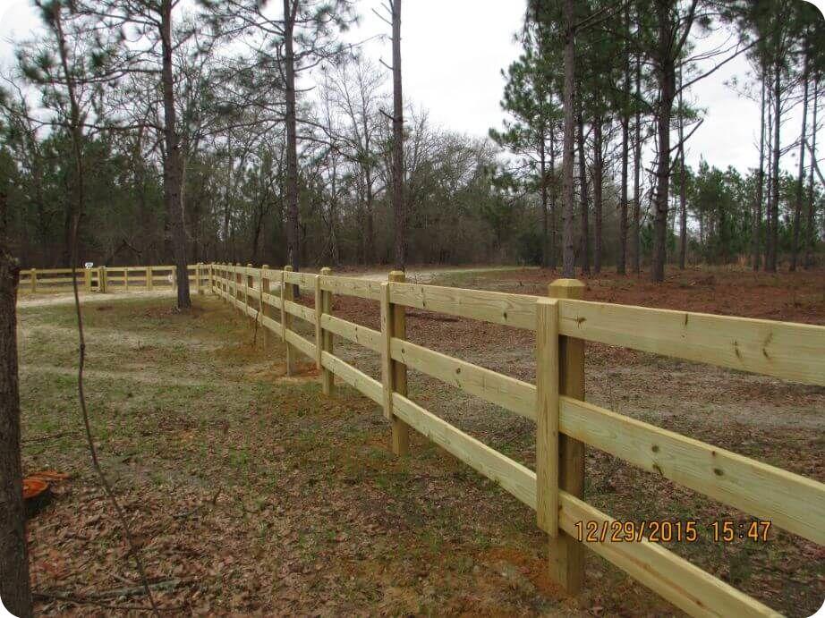 save money on wood fence