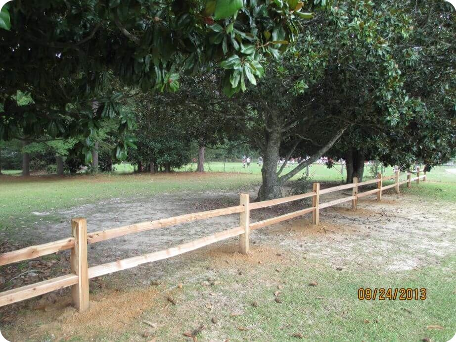save money on wood fence