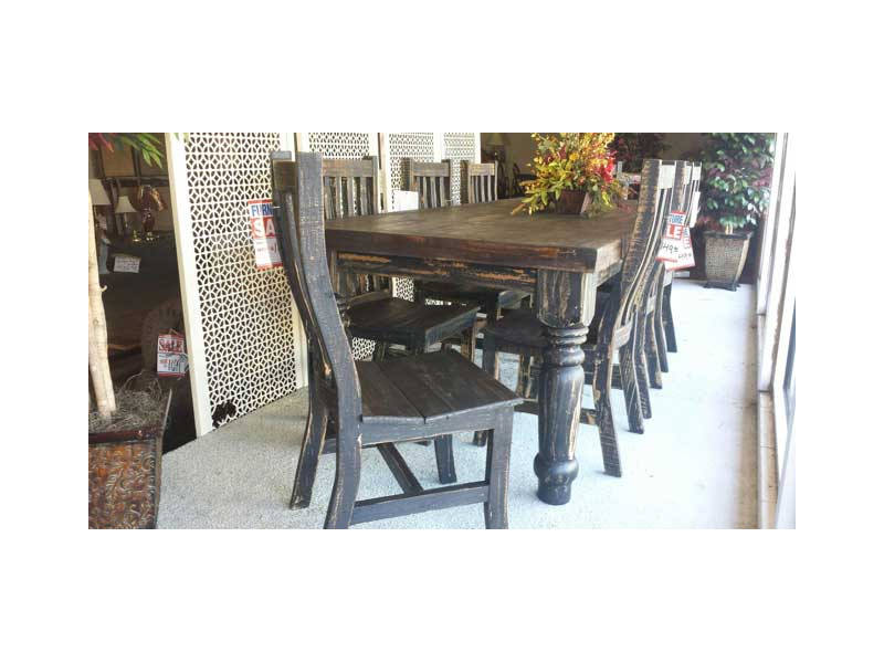 Dark Wood Dining Room Chairs romantic stunning dark wood dining room table at Rustic Dark Wood Dining Room Table W Chairs
