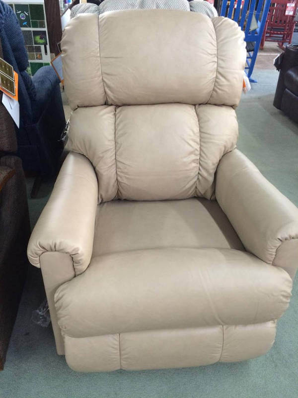 Frosted White Recliner