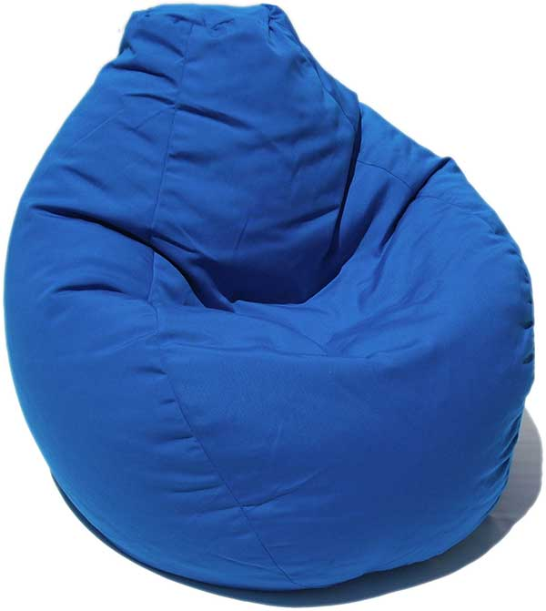 Outdura Pacific Blue Bean Bag Chair Custom Furniture And