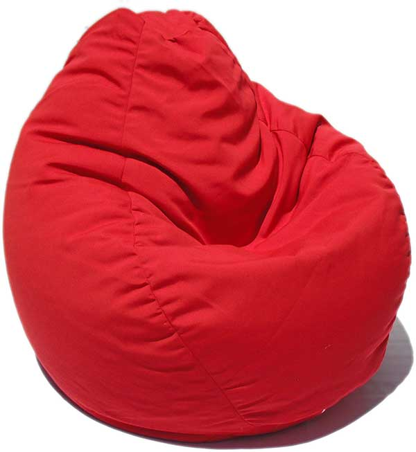 Outdura Red Bean Bag Chair