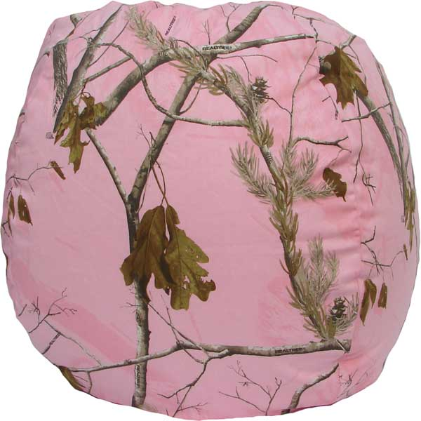 Real Tree AP Pink Camo Bean Bag Chair