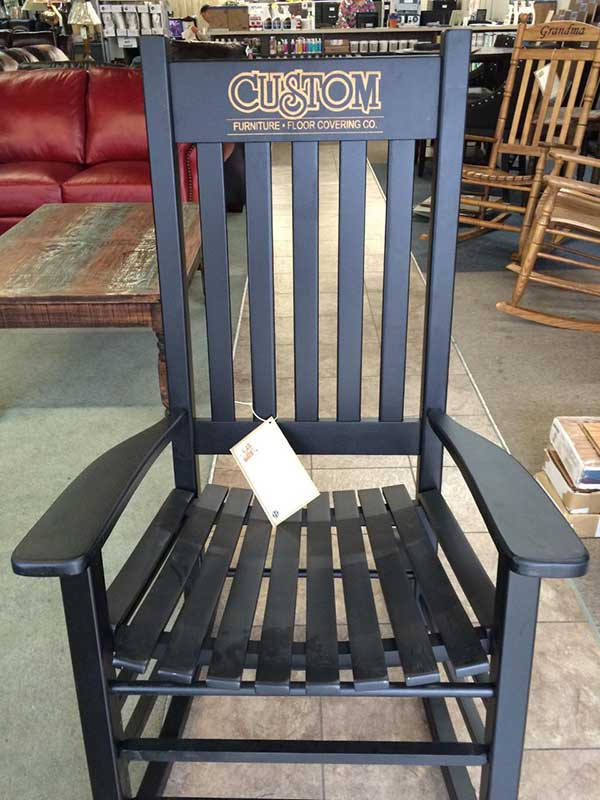 Standard Black Rocking Chair