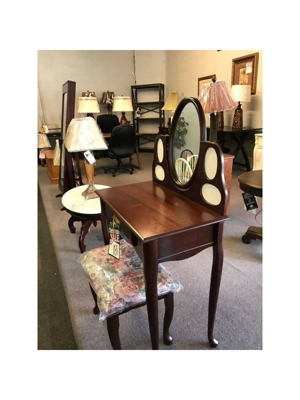 Rustic Vanity and Desk