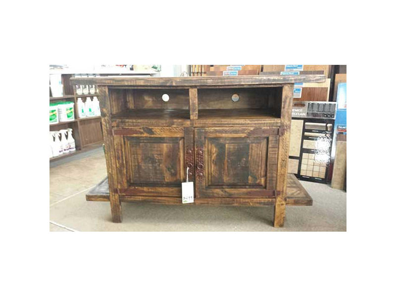 Rustic Wood Desk w/ Drawers