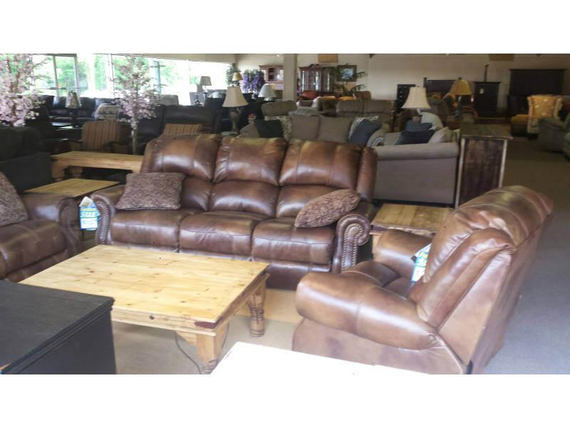 Leather Furniture Showroom Sample