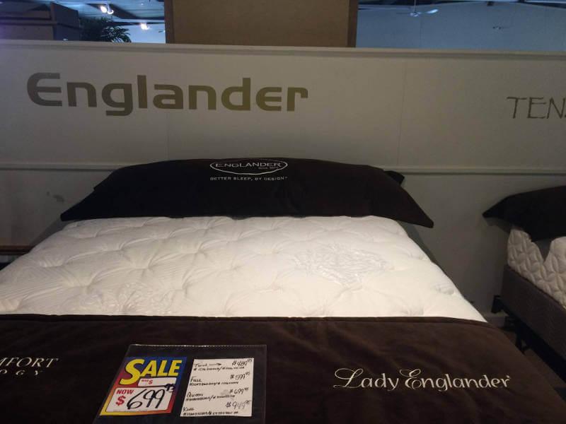 Englander Mattress Sample 2