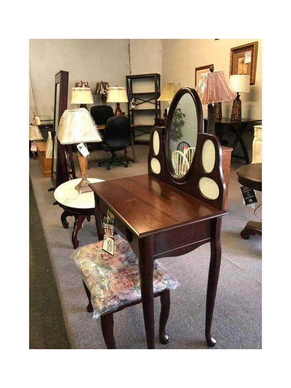 Vanity Mirror and Desk Combo