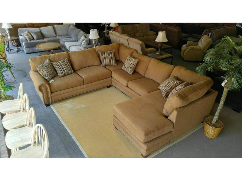 Coffee Brown Sectional