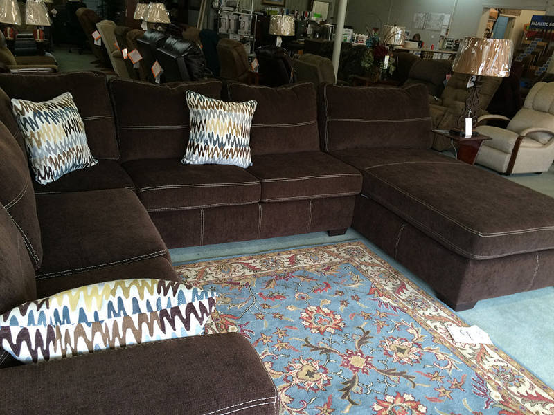 Mocha Brown Sectional