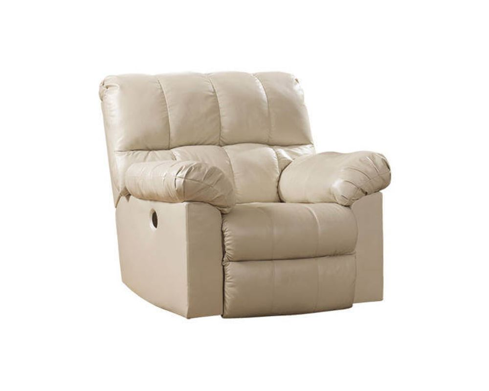 Shine White Recliner