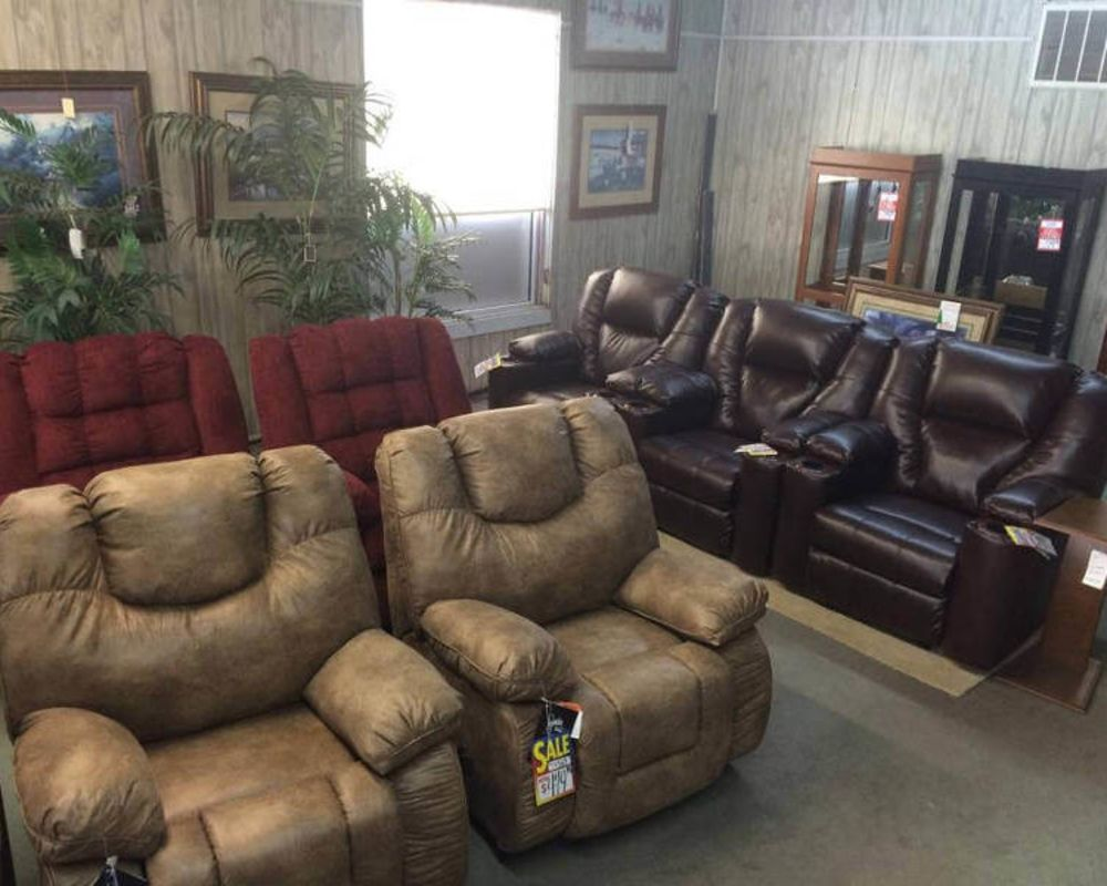 Recliner Showroom Sample 1