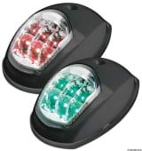 Lanternesett LED ABS-plast inntil 12m Sort