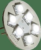 Båtsystem Lyspære G4 6 LED Bunnkontakt 1,3W 8-30V