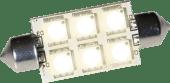 Båtsystem Lyspære LED Spool 2 1,5W 8-30V 42mm