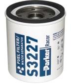 Racor Element S-3227 Blå bensin/vannutskiller