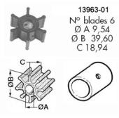Impeller 100 VP/Bukh/Perkins/Yanmar