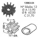 Impeller Volvo Penta V8/3.0/4.3/5.0/5.7/5.8/7.4