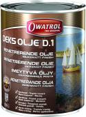 Owatrol Dekksolje D1 Silkematt 2,5 liter