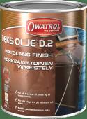 Owatrol Dekksolje D2 Høyglans 2,5 liter