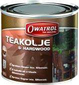 Owatrol Teakolje Silkematt 0,5 liter