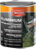 Owatrol Aluminium Rustbeskyttende Maling 0,75 liter