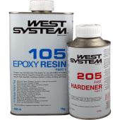 West Epoxy A-Pakke 205