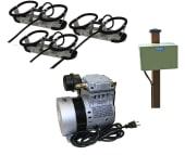 Kasco Robust-Aire bobleanlegg 3 diffusers m/kabinett