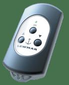 Lewmar fjernkontroll 3 knapper u/mottaker
