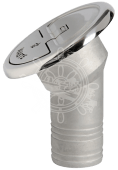 Dekksforskruvning 30 grader Waste 38mm Syrefast