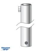 Båtsystem Rør Ø25mm, L=325mm, stop bolt