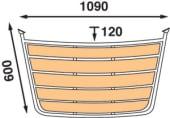 Båtsystem Badeplattform Seilbåt PT1006030