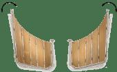 Båtsystem Badeplattform To-Delt PS55