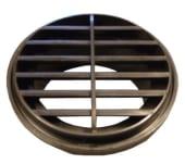 Eberspächer Utblåsningsdyse vridbar Sort 90mm