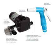 Whale Spylepumpe kit 24V 18L/min