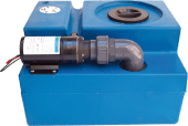 Septiktank 78 liter med Pumpe