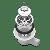 Dometic Siphon vannlås m/vinklet avløp Ø25 mm