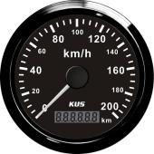 Kus speedometer med kilometerteller