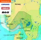 C-Map Max-N+ Lokal Fiskbeckkil til Lyngdal