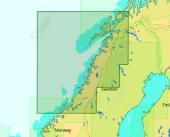 C-Map Max-N+ Lokal Kristiansund til Finnsnes