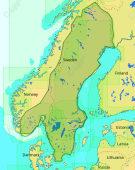 C-Map Max-N+ Lokal Innlandsvann i Skandinavia