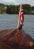 Båtflagg Norge Royal Bomull